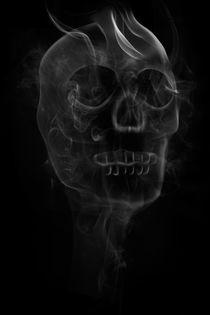 Smoking Skull by Martin Williams