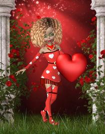Valentinstag Herz von Conny Dambach