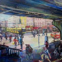 Unter der U-Bahn by Renée König