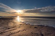 Sonnenuntergang am Strand von Annett Mirsberger