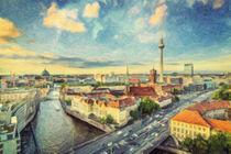 Berlin Skyline von olaartprints