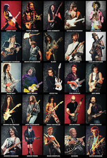 Greatest Guitarists Of All Time von zapista