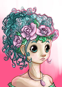 Flowergirl by Anna  Voigtländer