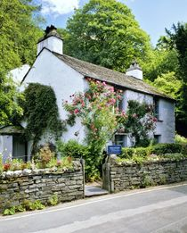 Dove Cottage. Home of poet William Wordsworth by David Lyons