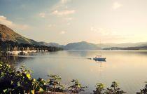 Evening calm on Ullswater von David Lyons