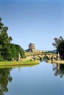 Hawksmoor's mausoleum in the gardens of Castle Howard by David Lyons
