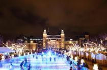 Christmas time. Amsterdam. Rijksmuseum. von Galina Solonova