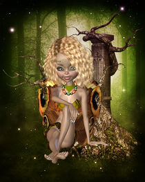Leaf Fairy von Conny Dambach