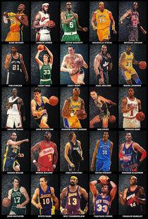 Basketball Legends by olaartprints