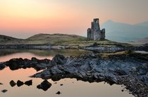 Ardvreck Castle on the shore of Loch Assynt von David Lyons