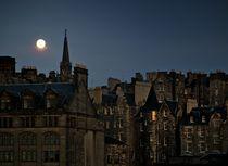 Nocturne. Edinburgh Old Town von David Lyons