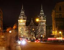 Rijksmuseum. Amsterdam. Night life. von Galina Solonova