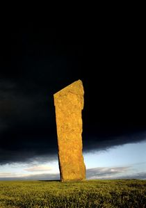 Stenness Standing Stone #1 by David Lyons