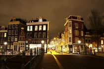 Night feeling. Amsterdam. von Galina Solonova