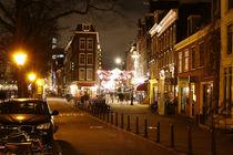 Korte Leidsedwarsstraat. Amsterdam. Night life. von Galina Solonova