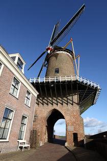Windmill. Wijk bij Duurstede. Sunny. von Galina Solonova