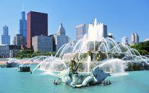 The Buckingham Fountain, Chicago von David Lyons