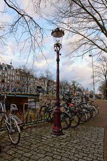 Lamp. Amsterdam. by Galina Solonova