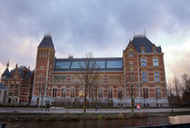 Rijksmuseum. Amsterdam. evening. by Galina Solonova