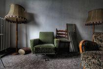 Green armchair  von Susanne  Mauz