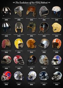 The Evolution of the NFL Helmet von zapista