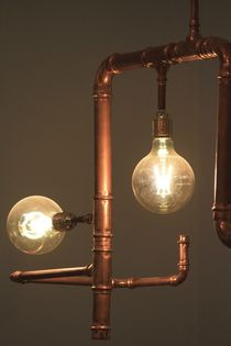 Industrial Lamp by Bianca Baker
