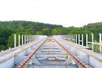 Alte deutsche Eisenbahnbrücke in Polen von Denis Sandmann