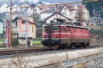 Bosnische Eisenbahn von Denis Sandmann