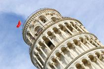 Schiefer Turm in Pisa, Italien von Denis Sandmann