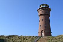 Wasserturm auf Borkum von Denis Sandmann