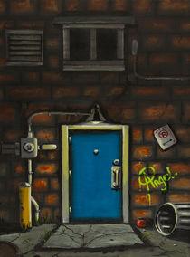 Back Alley Door von Angelo Pietrarca
