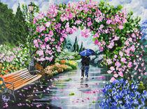 Rainy Day Walk von Angelo Pietrarca