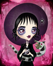 Strange and Unusual - Lydia Deetz by Sandra Vargas