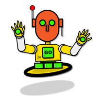 Marigold The Traffic Safety Robot by Vincent J. Newman