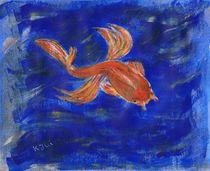Fisch in blauem Wasser von Anke Ilona Nikoleit