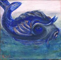 Fisch in grünem Wasser von Anke Ilona Nikoleit