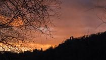 Der Rolandsbogen beim Sonnenuntergang von Frank Landsberg