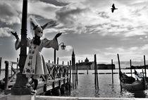 Carnevale di Venezia 2018 - Black and white von wandernd-photography