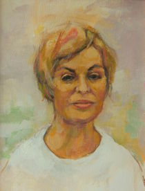 Porträt Malerei 22 von alfons niex