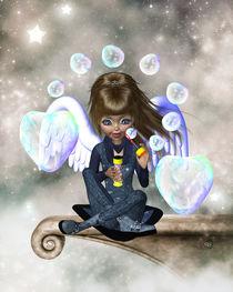 Seifenblasen-Engel von Conny Dambach