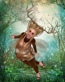 Wald-Pummelfee by Conny Dambach
