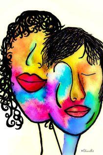 You and Me Portrait von eloiseart