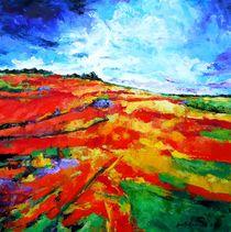 Landschaft XII by Eberhard Schmidt-Dranske