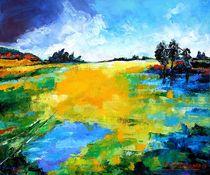 Landschaft X by Eberhard Schmidt-Dranske