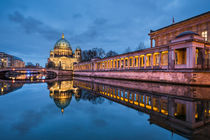 Berlin At Night by Michael Abid