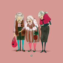 Old Ladies von rebekka ivacson