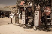 'Gas-Station Route 66' by reisen-fotografie-blog