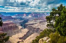 Grand Canyon mit Wolkenhimmel von reisen-fotografie-blog
