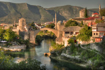 The Old Bridge of Mostar  by Rob Hawkins