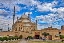 Mosque of Mohamed Ali  Cairo Egypt von Andy Doyle